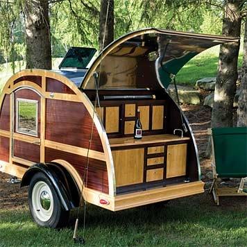 tear drop camping trailer